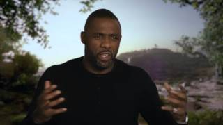 """The Jungle Book: Idris Elba """"Shere Khan"""" Behind the Scenes Movie Interview"""