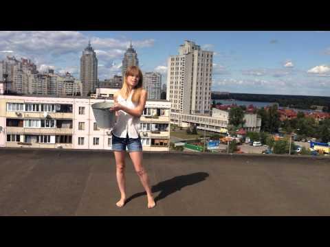 Olga Parashchuk accept Ice Bucket Challenge