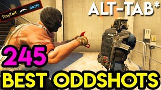 """CSGO - """"So LUCKY"""" - BEST ODDSHOTS #245 (+Giveaway)"""