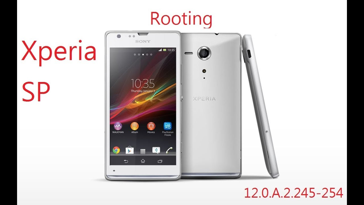 Xperia SP 12.0.A.2.245-254 Root For experts - YouTube