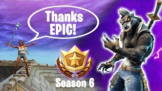 Fortnite Named a Skin After me lmao   Season 6 Battle Pass and Locations (Fortnite Battle Royale)