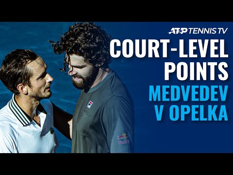 Daniil Medvedev vs Reilly Opelka: Court Level-Highlights   Toronto 2021 Final