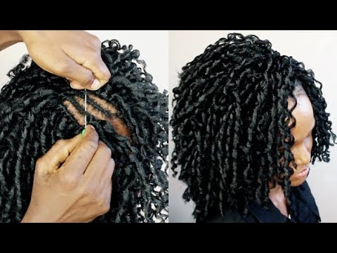 HOW TO: EASY INSTALL CROCHET BRAIDS