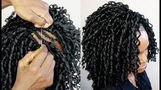 HOW TO : EASY INSTALL CROCHET BRAIDS UNDER $4
