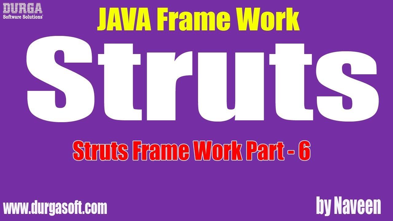 Struts framework tutorial.