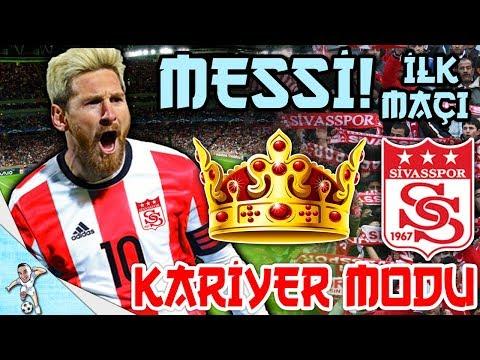 Messi Siv Porda Ilk Macina Cikiyor Sampiyonlar Ligi Belli Fifa Kariyer Modu Bolum