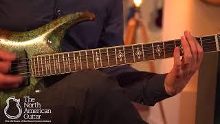 Scott Walker Phantom Electric Guitar, Fathom Finish Played by Stuart Ryan (Part One)