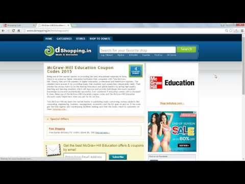 How to use McGraw Hill Education coupon code
