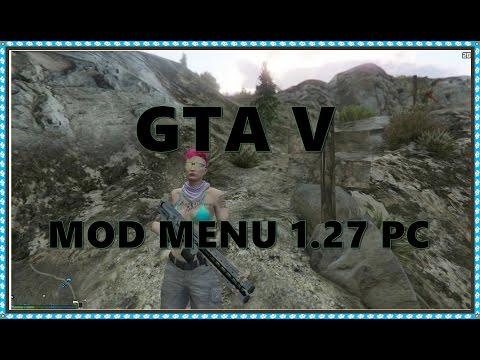 [PC]GTA V MOD MENU 1.27 - FUNCIONANDO 100 %