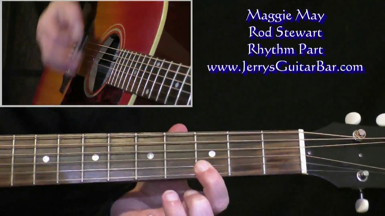 Rod Stewart Maggie May Intro Guitar Lesson