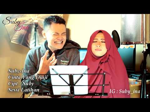 Suby-Ina (Romantic Duo) - CINTA YANG DIUJI (LIVE at Latihan)