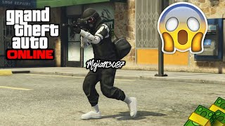 GTA 5 Online - How to create Dope TRYHARD MODDED Outfit Using Clothing GLITCHES After Patch 1.40
