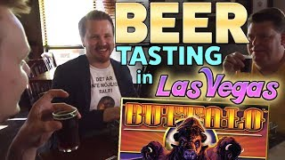 BEER tasting 😍 and BUFFALO slot in Las Vegas | Vlog 30