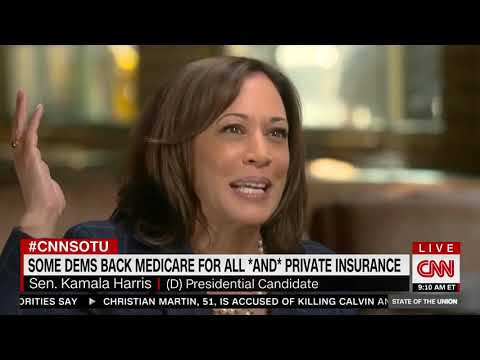 Sen. Kamala Harris Falsely Claims Medicare For All Will Not Eliminate Private Insurance