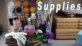 Art Supplies for Custom OOAK Doll Repaints and Faceups