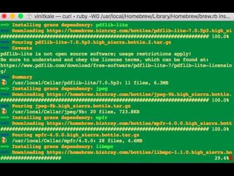 xmgrace windows install