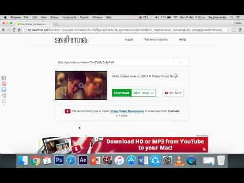 youtube videos no software mac