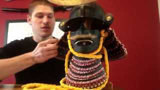 Hanwei samurai helmet review.  Date Masamune.