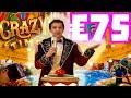 CRAZY TIME 😱 LIVE BONUS HUNT 🔥 NON STOP BONUSES AND EPIC €75 BET ⚠️ CRAZY TIME BONUS‼️