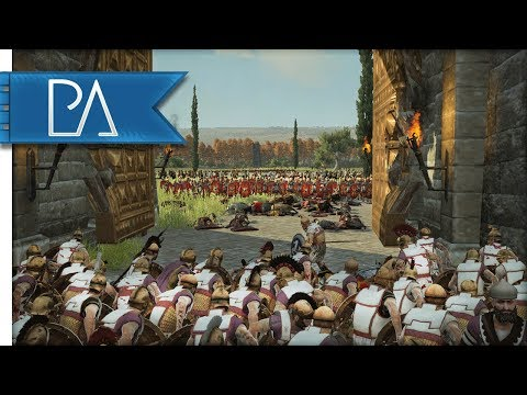 The Roman Empire Surrounds The City Of Athens - Total War: Rome 2