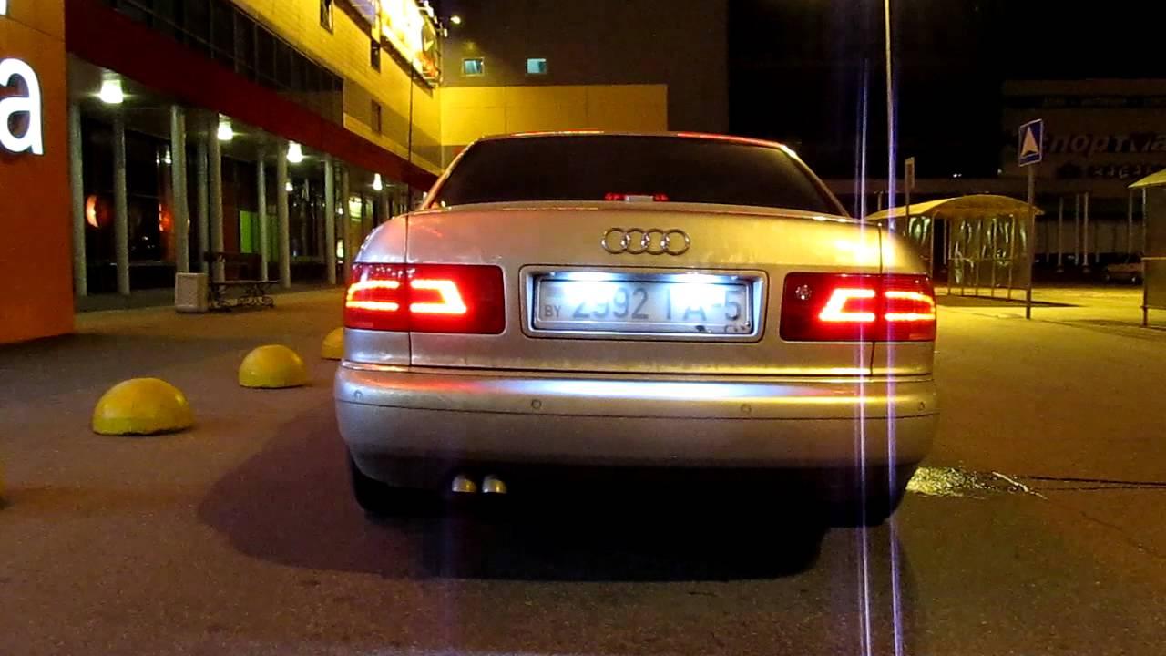 Тюнинг оптики Ауди А8 D2 LED-Tuning.ucoz.ru - YouTube