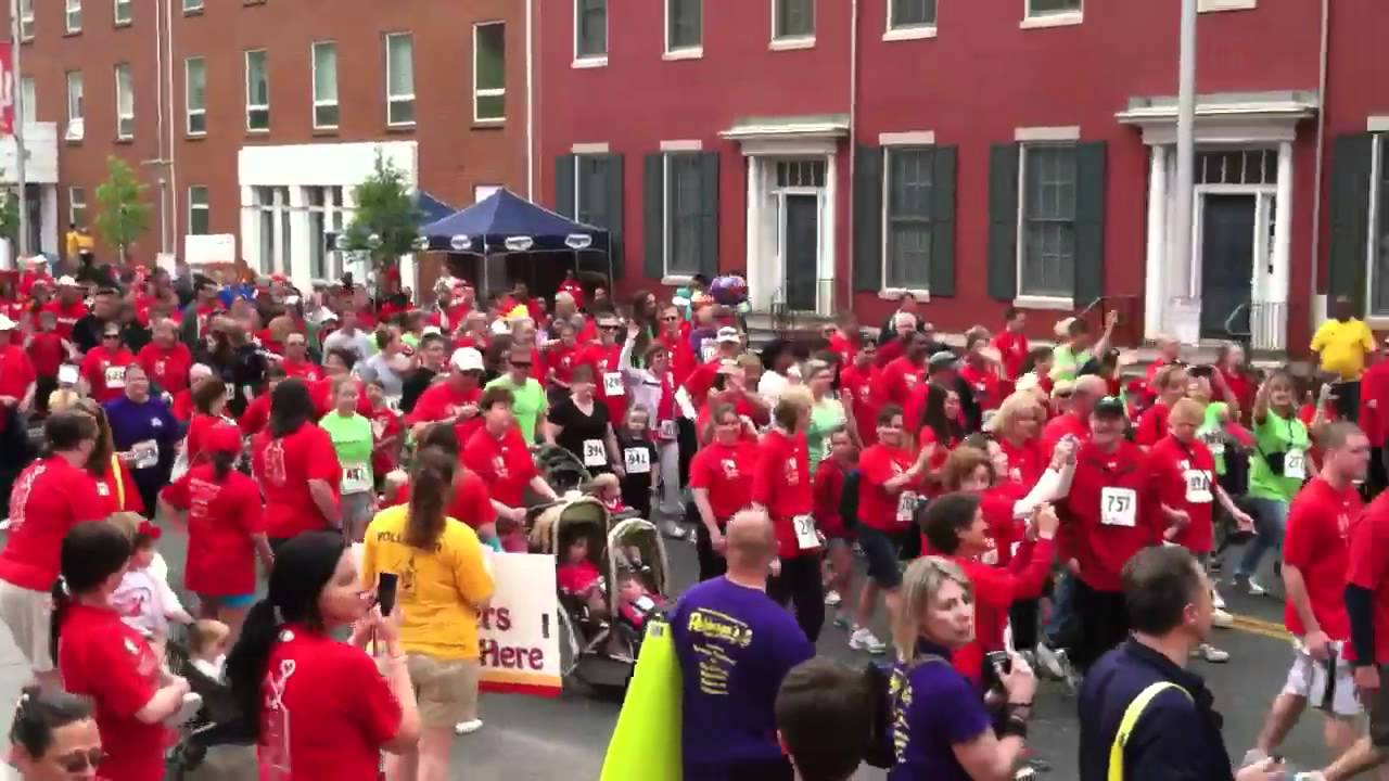 The 1st Annual 5K Red Shoe Shuffle Baltimore 4/15/12 - YouTube