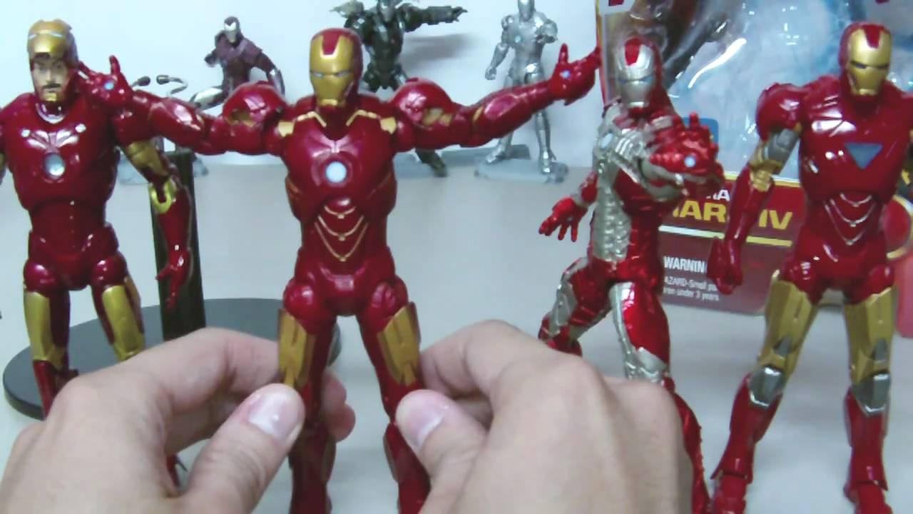 Walmart Exclusive Iron Man 2 6inch Mark 4 Iv Figure