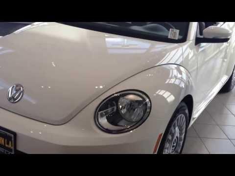 2013 VW Beetle Convertible Retro Wheel Trick Los Angeles Santa Monica Hollywood Cerritos Culver City