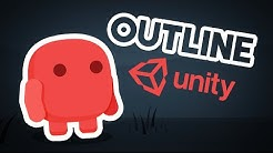 How to make a 2D OUTLINE in Unity!