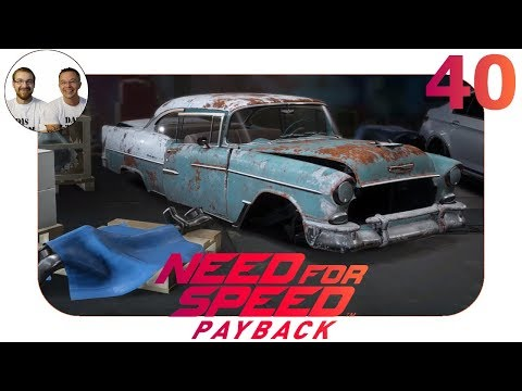 NFS Payback Let's Play - WRACK CHEVROLET BEL AIR 1955 - Gameplay Deutsch - Need for Speed Payback 40