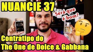 NUANCIE 37 - Contratipo do The One Dolce & Gabbana / Perfume Contratipo Masculino