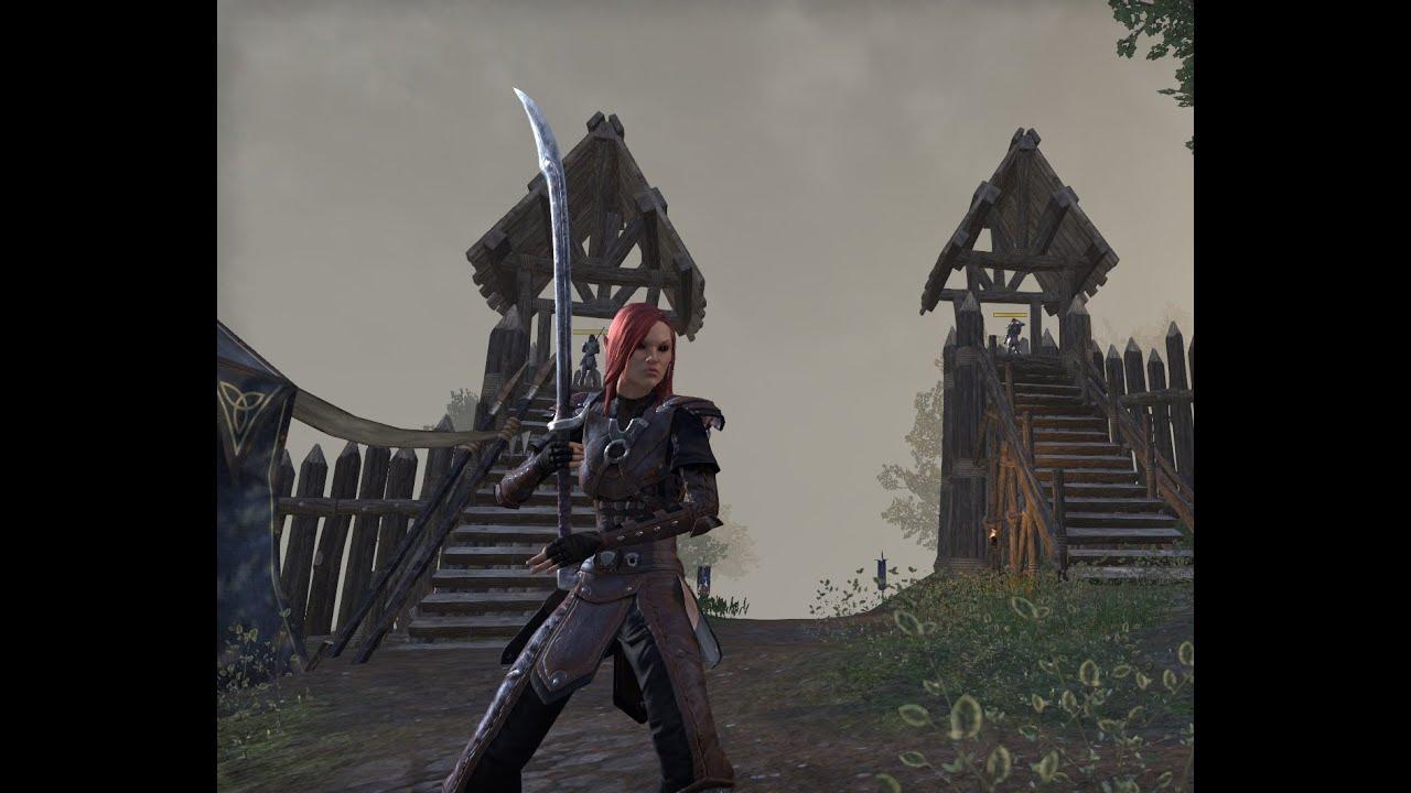 Elder Scrolls Online Sorcerer Leveling Build