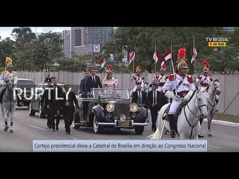 LIVE: Inauguration Ceremony as Jair Bolsonaro takes oath as new Brazilian president