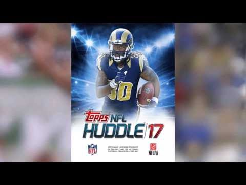 GREAT TIPS FOR BEGINNERS - TOPPS NFL HUDDLE 17: FOOTBALL CARD TRADER