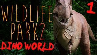 Wildlife Park 2: Dino World | Ep.01 - Dinosaurs And Ostriches.
