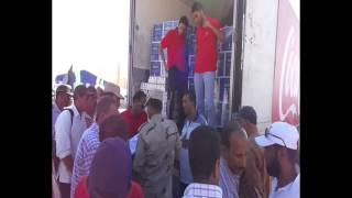 دور وطنى لكوكاكولا مصر: توزيع 10000عبوة للمرة الثانية  لعمال قناة السويس الجديدة