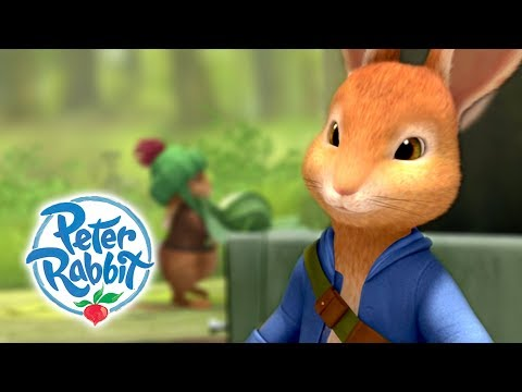 Peter Rabbit - Peter The Brave | Hop to It | Cartoons for Kids