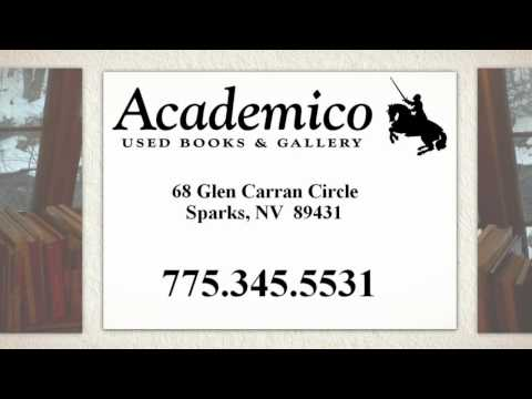 Used Book Dealer | (775) 345-5531 | Academico Books | Nevada | Reno | Las Vegas | Sparks