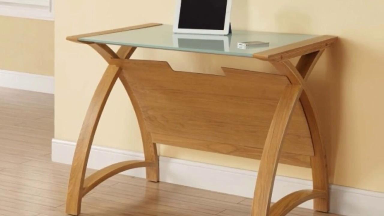 Curved Office Desk Furniture Design UK - YouTube