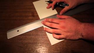 Come costruire elicottero di carta - How to build paper helicopter