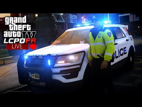 GTA 4 LCPDFR LIVE - Day 10 | LCPD FPIU All Blues | LCPDFR 1.1 Realistic Police Patrol 🚔