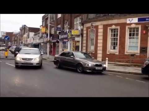 MADNESS on Slough High Street (Aventador,R8,C63,H2,etc)