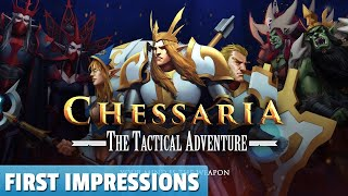 Chessaria: The Tactical Adventure — First Impressions