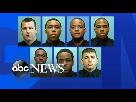 7 Baltimore police officers indicted on federal racketeering