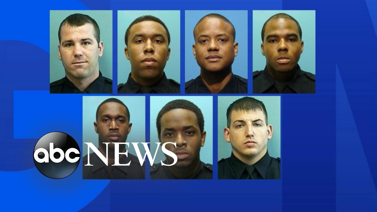 7 Baltimore police officers indicted on federal racketeering charges