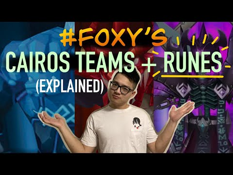 My SPEED TEAMS For Cairos & R5 [Runes & Why I Use Them] - Summoners War