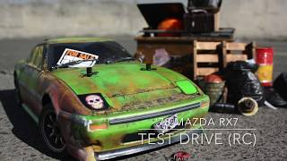 '76 MAZDA RX7 test drive