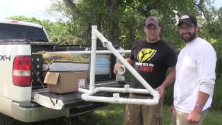 Diy: Bow Stand From Pvc Pipe