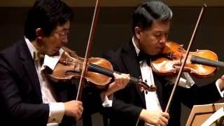Shanghai Quartet Live in Tokyo 2015, part I.