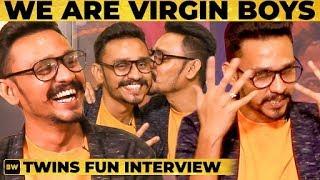 """HONEYMOON-க்கு அவன் கூட நானும் போனேன்"" -  Arun & Aravind Identical Twins Interview | SS 105"